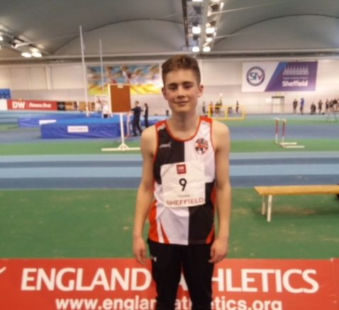Patrick Sets 5 Bests in Combined Events Championships