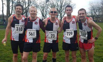 Bury Bests in Blistering Salford 10k